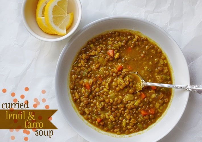 ... soup from parsley thief. Was just searching on curried lentil soup