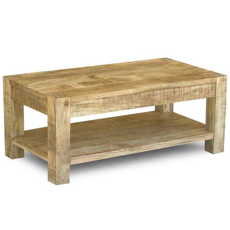 reclaimed mango wood coffee table and shelf india