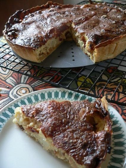 ... ://smittenkitchen.com/2010/02/cauliflower-and-caramelized-onion-tart