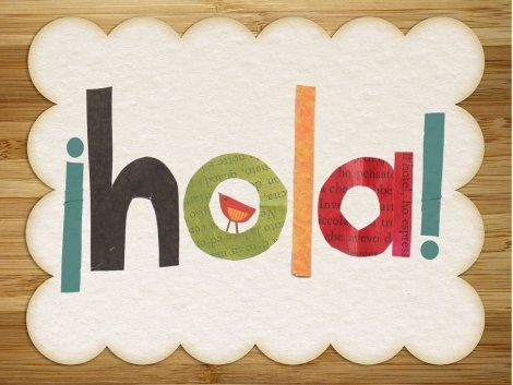 Hola print by Children Inspire Design | printables/graphics/photoshop ...