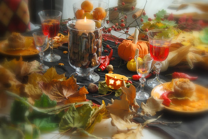Autumnal table...
