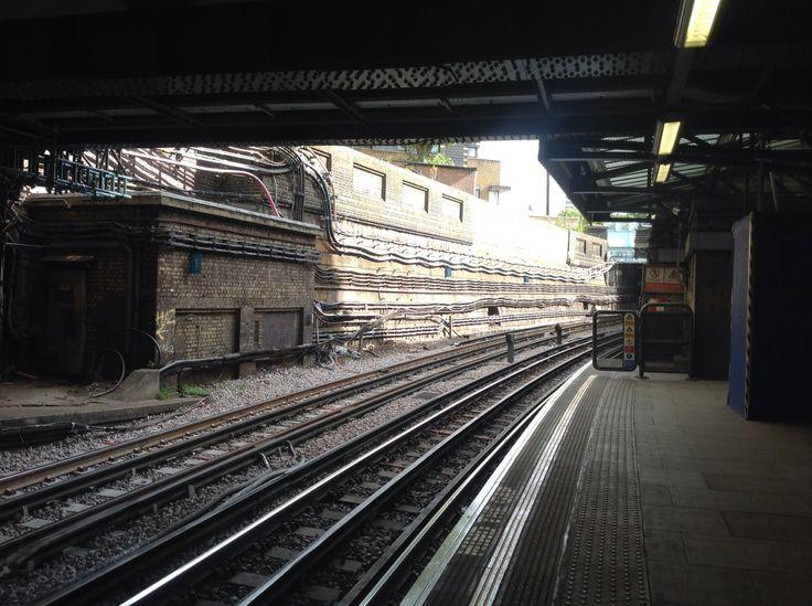 South Kensington tube station, London | Tracks and trains | Pinterest