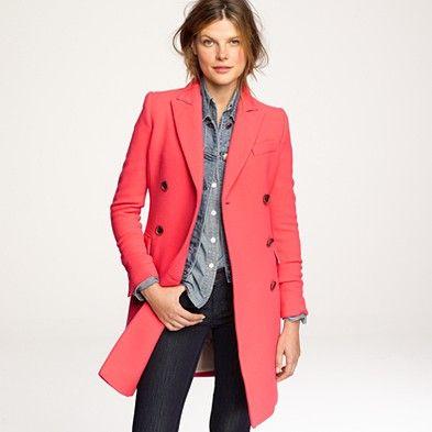 coral coat