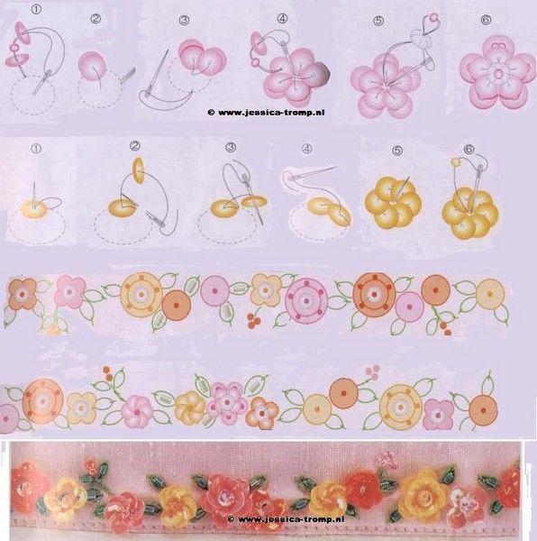 Схемы вышивок пайетками 99