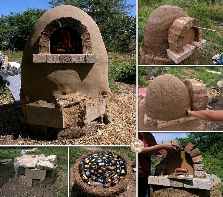 Diy cob pizza oven la maison dans les bois pinterest for How to make a cob oven