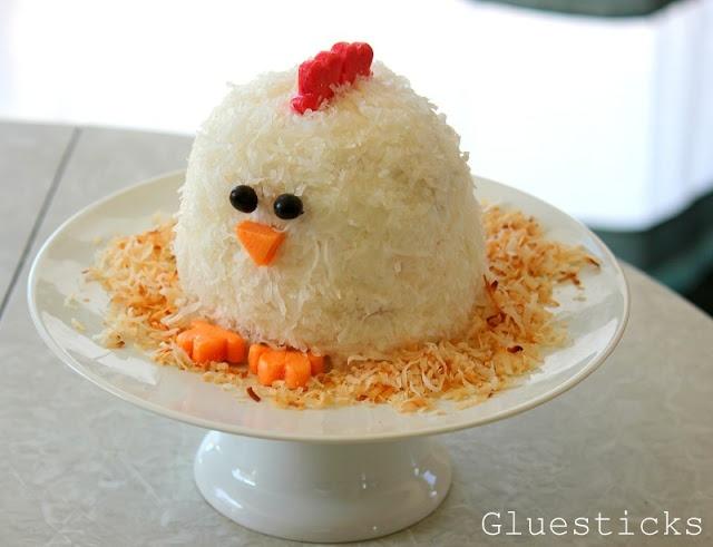 Little Chicken Cake Cute Food Pinterest