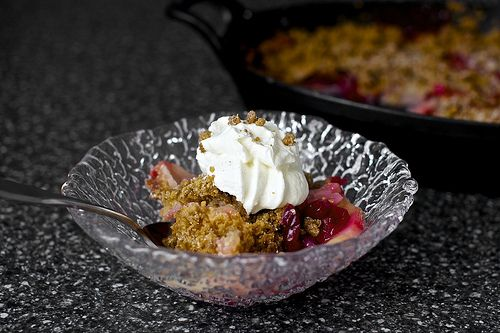 pear cranberry and gingersnap crumble (Heaven! Our Thanksgiving ...
