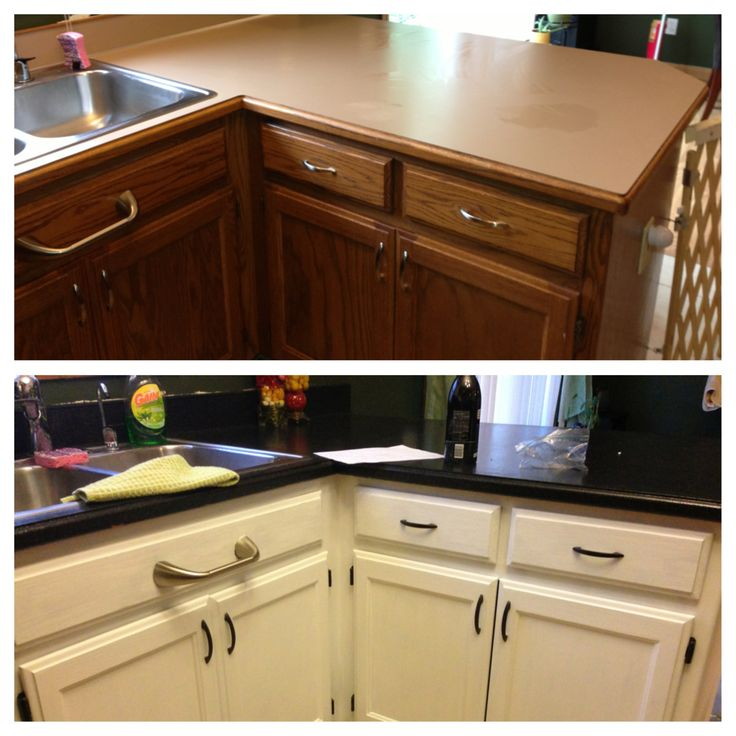 ... countertop transformation kits and oil rubbed bronze spray paint for