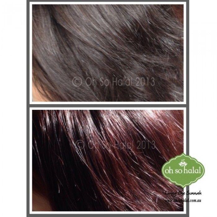 Henna Hair Dye Red Wine Makedes