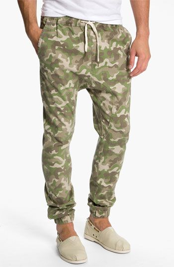 Zanerobe Sureshot Slim Tapered Leg Camo Pants | Nordstrom