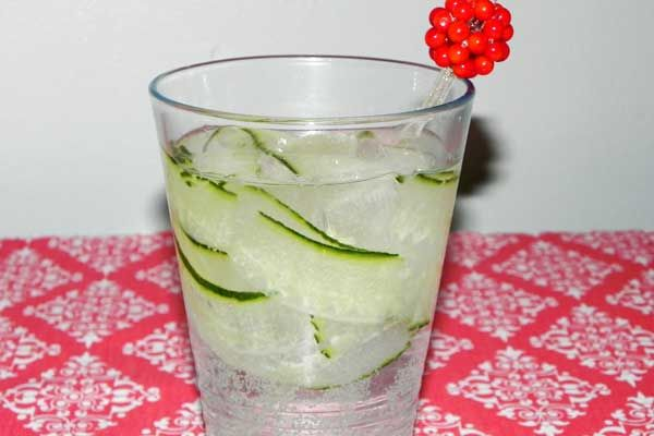 cucumber ginger spritzer... I want one right now! They are so ...