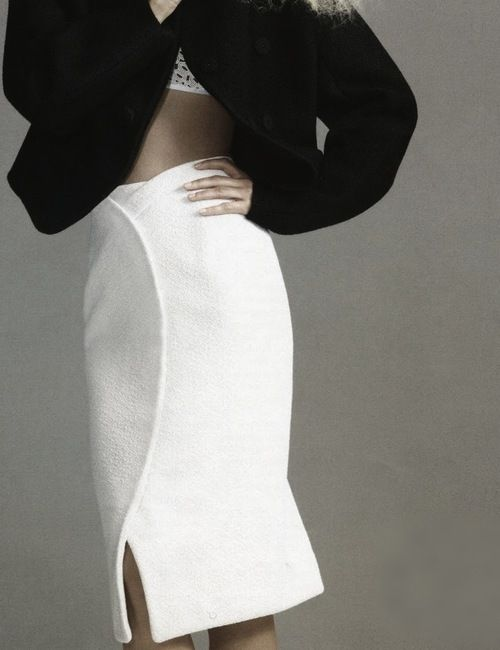 Viktoriya Sasonkina wears Proenza Schoulerby Chad Pitman, Vogue Russia August 2013.