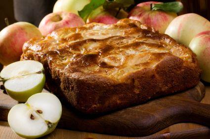 Karina's Jewish Apple Cake Recipe With Sour Cream Recipes — Dishmaps
