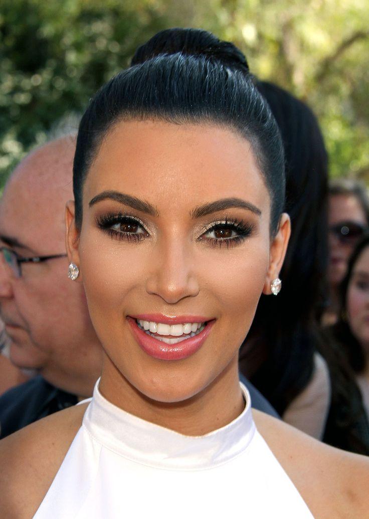 Kim Kardashian Eye Makeup | Kim Kardashian Fan's Zone