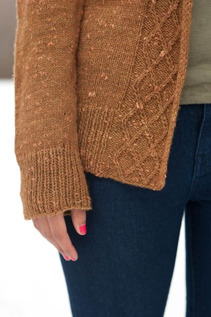 Schoodic Cardi by Hannah Fettig - One day when I'm all growed up, I'll be able to knit sweaters like the big kids!