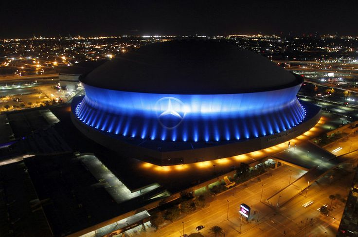 mercedes benz superdome new orleans stadiums north