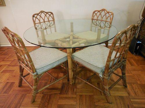 MCGUIRE Vintage BambooRattan Dining Set Chippendale  : 3bd98d3d49e511084de66ad6a3771df2 from pinterest.com size 500 x 375 jpeg 33kB