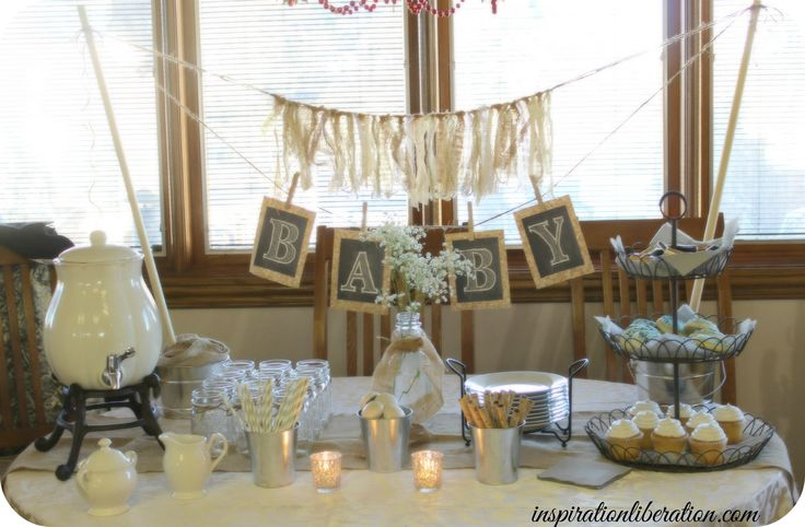 neutral baby shower decor oh baby baby shower pinterest
