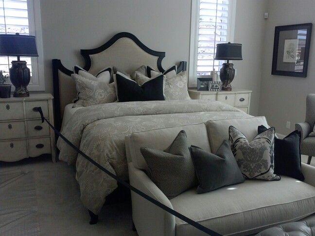 black cream and greige bedroom bedroom pinterest