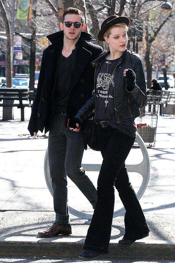 Jamie Bell and Evan Rachel Wood | style | Pinterest