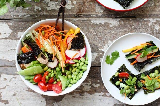 Deconstructed Sushi Bowl Recipe — Dishmaps