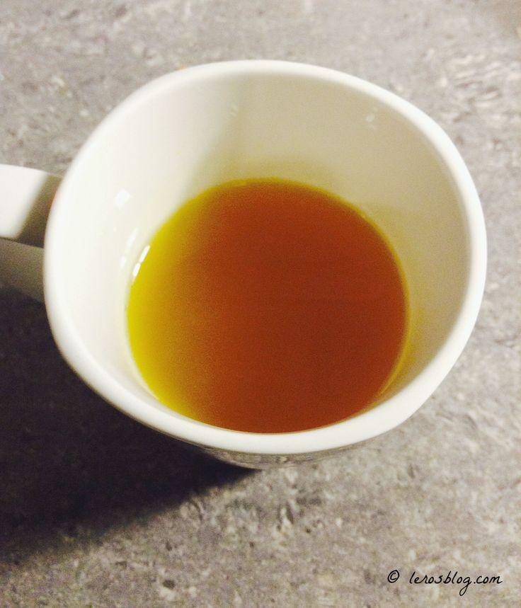 Warming ginger turmeric tea :)
