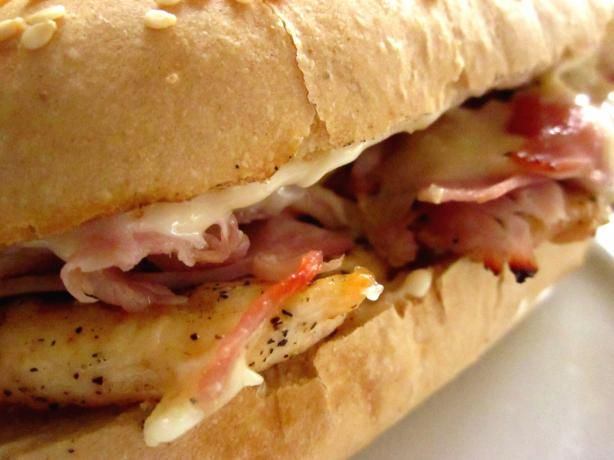 Cordon Bleu Chicken Sandwich from Food.com: Something different to ...
