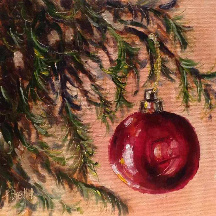 Pin by jana jones williams on my style pinterest for Christmas paintings easy