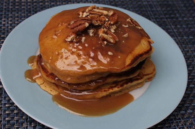 Deals to Meals: Sweet Potato Pancakes with Cinnamon Caramel Syrup
