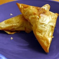Brie and Mushroom Filo Parcels recipe - All recipes UK