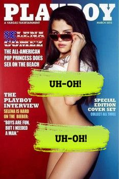 Selena Gomez Pictured On Playboy Cover