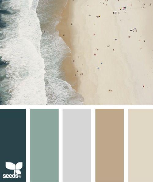 Beach House Interior Color Palette: Beach House Colors Schemes
