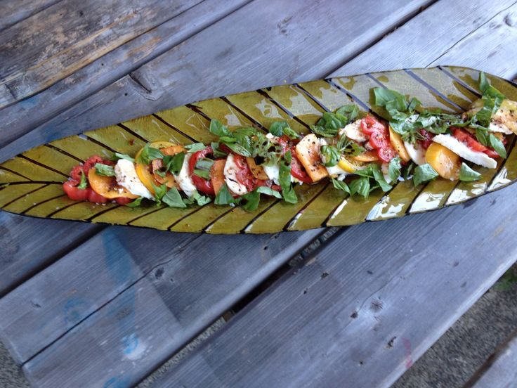 Valleybrink Road Recipe for Heirloom Tomato and Nectarine Salad ...