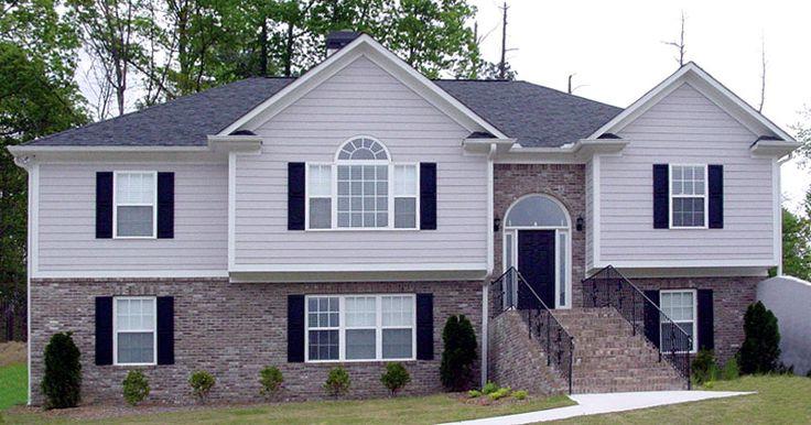 Ruthland Split Level Home Home Exteriors Pinterest