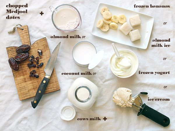 Almond, Date And Vanilla Smoothie Recipes — Dishmaps