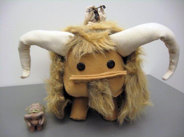 Cuddly Bantha Craft