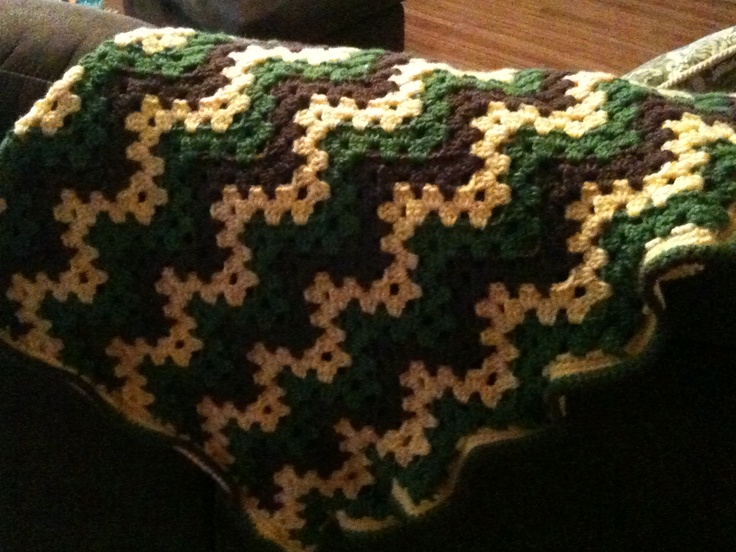 Crochet Pattern For John Deere Afghan : John Deere Afghan submited images.