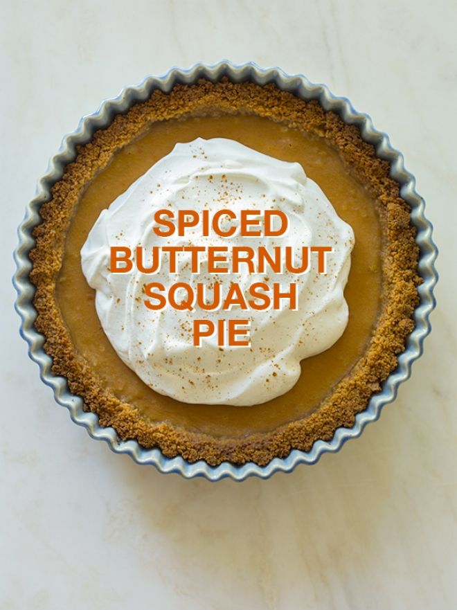 ... : Spoon Fork Bacon's Spiced Butternut Squash Pie | Blog | The Fix