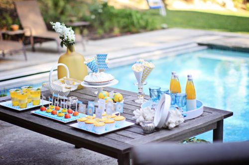 Pool Party Playdate Essentials + Decor