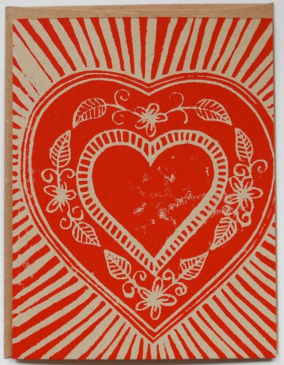 valentine heart envelope template