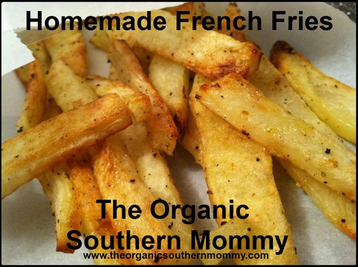 Homemade French Fries. Made these tonight. They turned out great!