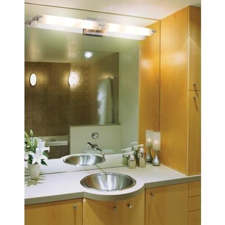 George kovacs 39 1 2 wide ada compliant bathroom light for Ada compliant hallway