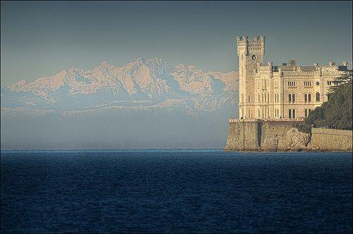 Miramare castle - Trieste (Italy)