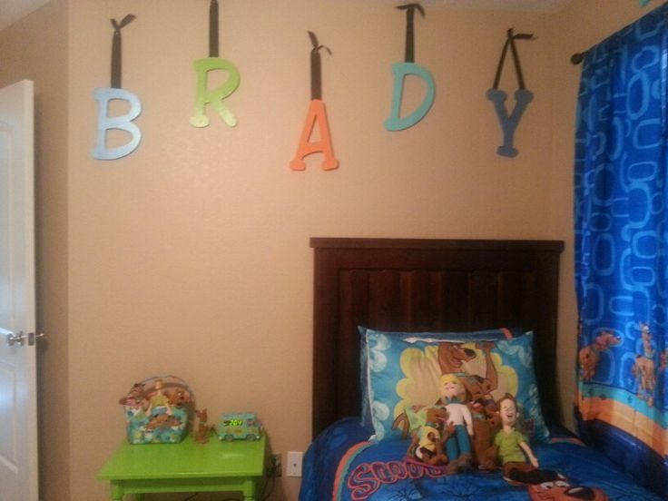 scooby doo room brady pinterest