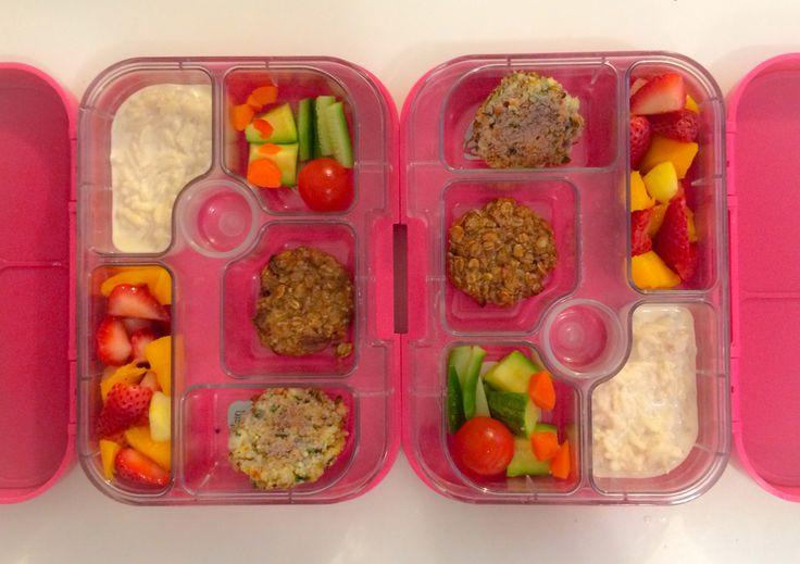 08052014 - rice pudding, carrot, orange capsicum, zucchini, cucumber ...