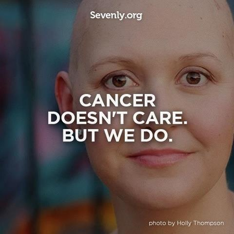 Re-Pin if you #Love people, Hate #cancer.
