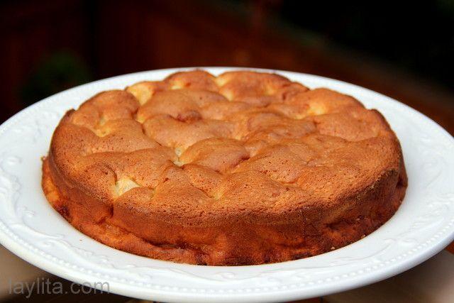 cake recipe 6 oz flour 6 oz sugar 3 eggs 3 apples, peeled and chopped ...