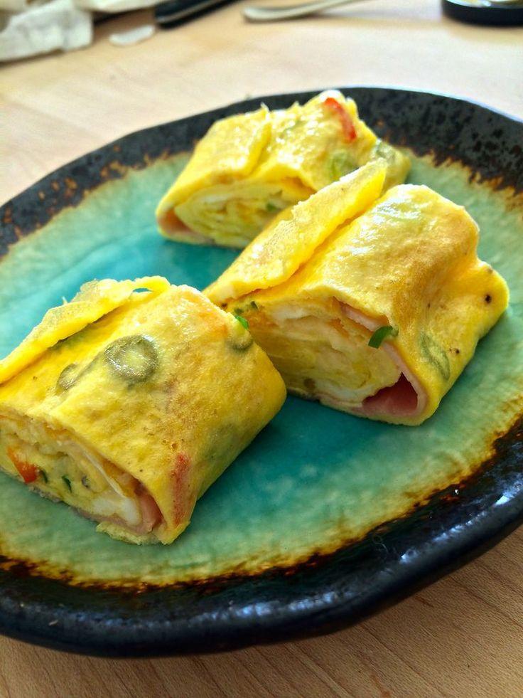 Rolled Egg Omelet | Recipe