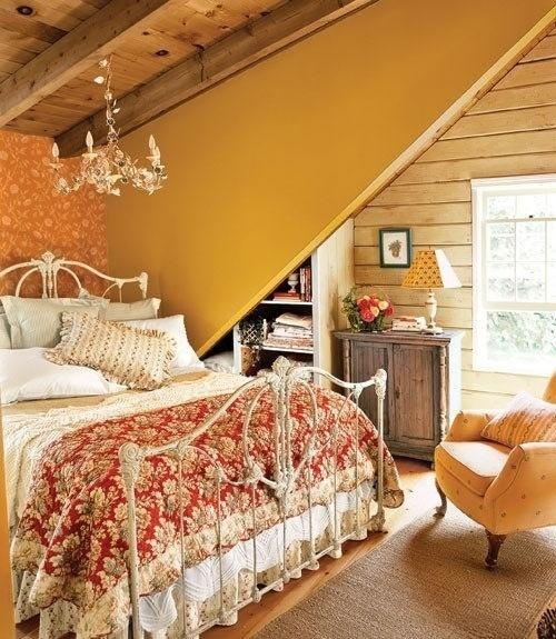 Rustic french country bedroom for the home pinterest for Country cottage bedroom