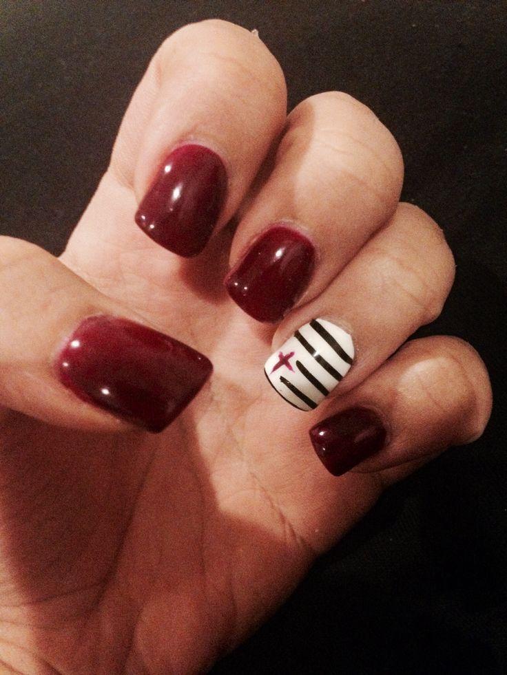 Nail art. #Cross ☺️ | Nails, nails, nails! | Pinterest